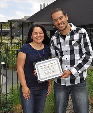 Yvonne Davila and Jorge Reyna