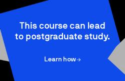 This course can lead to postgraduate study. Click to see more.
