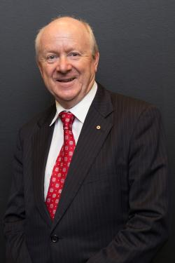 Photo of UTS Council member Dr John Laker, AO