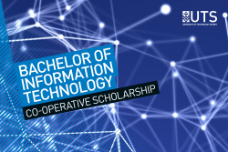 Bachelor of Information Technology Brochure Cover