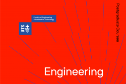 Postgraduate Engineering Course Guide Cover