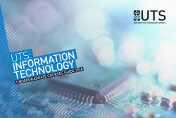 Undergraduate IT Brochure Front Cover