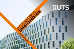 Undergraduate International Brochure Front Cover