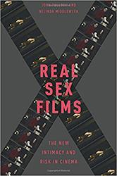 Book cover image, title of book real sex films