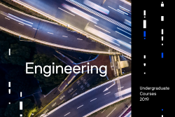 Front cover of the undergraduate engineering course guide