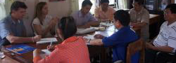 rural sanitation laos 2012