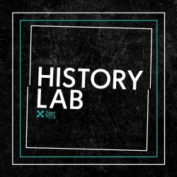 """black tile with """"HistoryLab"""""""