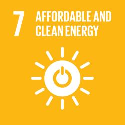 UN Sustainable Development Goal - Affordable and Clean Energy Icon