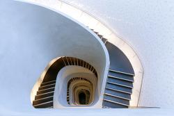 Building 7 stairway
