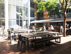 Building 5C courtyard