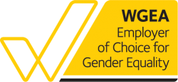 Endorsement logo for WGEA Employer of Choice for Gender Equality