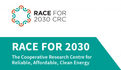 RACE for 2030 CRC logo