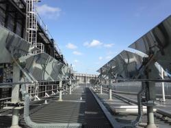System of mirrors to collect solar power