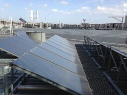Solar power on the roof