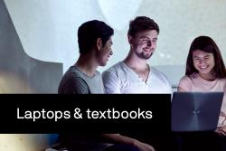 UTS students on a laptop thumbnail image