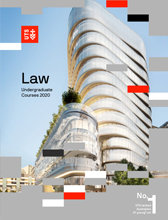 Law UG course guide cover