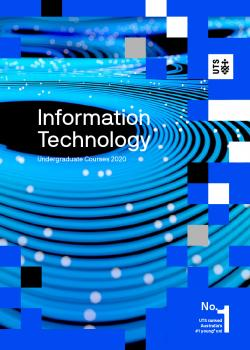 UTS Information Technology course guide cover 2020