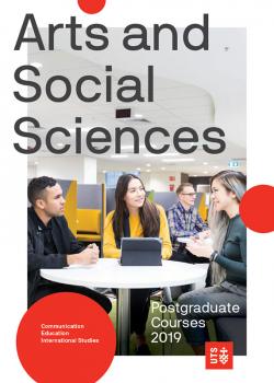 FASS 2019 postgraduate course guide cover