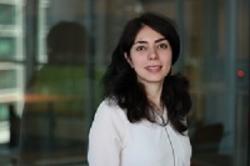 A picture of student Helia Farhood