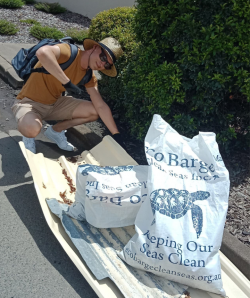 Lachlan Thorn on Clean Up Australia Day in the Whitsundays, 3 March 2019
