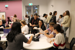 UTS Midwifery Students Assemble Birthing Kits