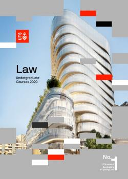 Law UG course guide cover 2020
