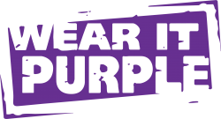 Wear it Purple logo