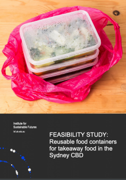Reusable food containers for takeaway food in the Sydney CBD - cover