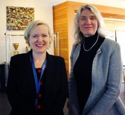 Ms Verity Firth (Centre for Social Justice and Inclusion, UTS) and Prof Suzanne Chambers (UTS Health)
