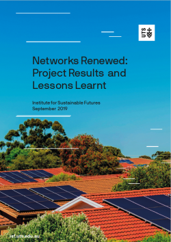 Networks Renewed - public dissemination report October 2019