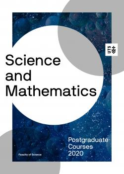 Science postgraduate course guide 2020 cover
