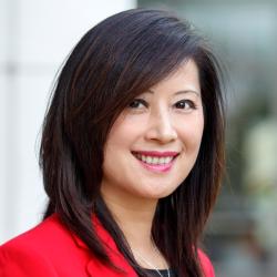 Vivian Wong smiling at the camera