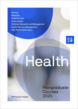 health postgraduate course guide cover