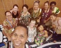 Nurses at the Pacific Heads of Nursing Meeting
