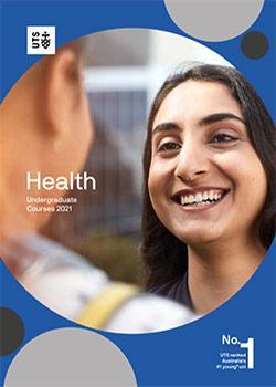 Health undergraduate course guide cover 2021