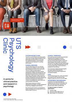 UTS Psychology Clinic Flyer