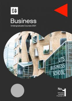 UTS Business Undergraduate Course Guide 2021