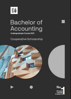 UTS Bachelor of Accounting Undergraduate Course Guide 2021