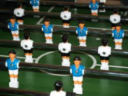 image of table football/soccer table