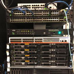 Software defined network servers and test-bed