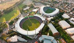 Moore Park, Allianz Stadium and SCG