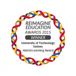 Reimagine award logo
