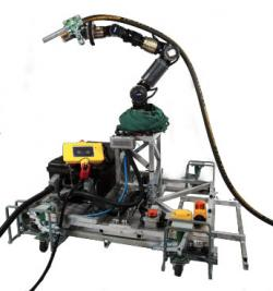 Grit-blasting robot for steel bridge maintenance and rehabilitation