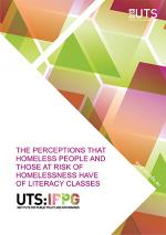 Cover of homelessness and literacy report