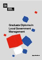 Graduate Diploma in Local Government Management Cover