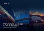 Cover of Civica Changing Landscape report