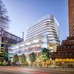Artist impression of UTS Central from Broadway