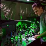 Igor using lasers