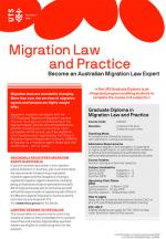 UTS Law Migration and Practice course guide