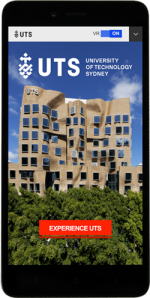 VR app on smart phone